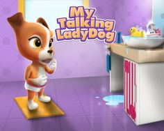 My Talking Lady Dog has almost 100.000 downloads on Google Play in less than 2 weeks?! This adorable virtual pet for kids is now available on iTunes for iPhone and iPad. DOWNLOAD FREE!