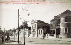 Porto Alegre 1930 - Rua Dr Valle no bairro Floresta