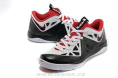 White/Black-University Red Nike LeBron ST II 579743-100 For Whol