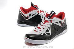 White/Black-University Red Nike LeBron ST II 579743-100 For Whol