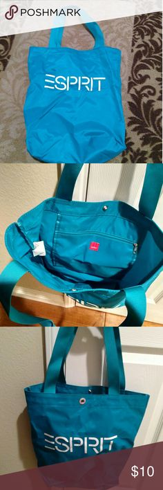 I just added this listing on Poshmark: Espirit nylon tote bag. #shopmycloset #poshmark #fashion #shopping #style #forsale #espirit #Handbags