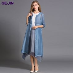Find More Blouses & Shirts Information about Long Kimono Women Maxi Blouse Nature silk Elegant X Long Cardigan Half sleeve solid color Large size 2XL summer blouses Shirt ,High Quality blouse black,China blouse pants Suppliers, Cheap shirt blouses from Sharewin Fashion(QEJIN) Co.,ltd on Aliexpress.com