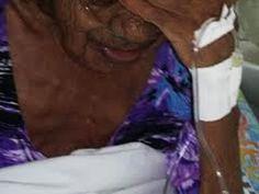 Idosa de 80 anos foi abusada pelo próprio filho (Foto: Polícia Militar/Divulgação)
