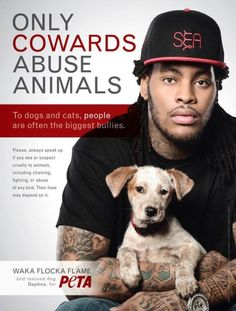 real men are kind to animals