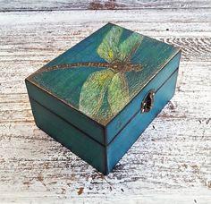 trinket box jewellery box dragonfly box bridesmaid box