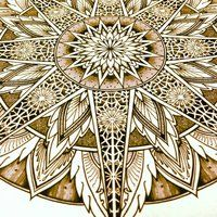 Solstice Mandala Project Day006 by ~OrgeSTC on deviantART