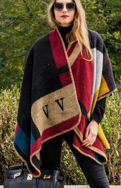 Burberry personalized Poncho | The Ugly Truth of V #burberry