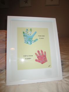 made this for a Christmas gift for great grandma and great grandpa...so cute!