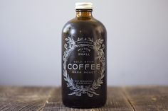 Milton & Small. Cold brew coffee from Oakland. Love the packaging. Need to try this!