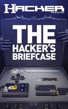 The Hacker's Briefcase (Hacker Magazine Book (game)lan. Computer Coding, Computer Internet, Computer Programming, Computer Hacking, Computer Forensics, Computer Laptop, Technology Hacks, Computer Technology, Computer Science