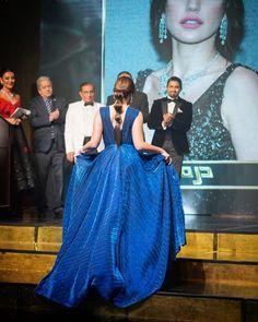 Dorra in blue dress 👗