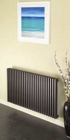 The Apollo bassano horizontal radiator is a contemporary horizontal designer radiator sutible for modern living areas. Contemporary Radiators, House Design, New Homes, House Inside, Cottage Design, Dining Room Colors, Modern Hallway, Contemporary Bedroom, Designer Radiators Modern