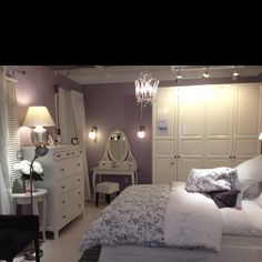 Love this ikea bedroom!