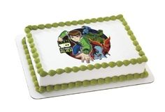Ben 10 Ultimatrix Edible Image Cake Topper >>> Click image to review more details. (This is an affiliate link)