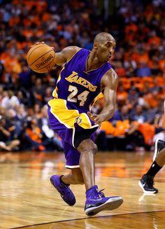 Kobe Bryant in a new Nike Kobe 9 Elite PE