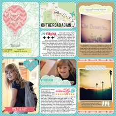 Love this template to use vertical pictures. Digital project life page Created using Echo Park's Everyday Eclectic and Becky Higgins' Project Life templates.