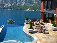 Lake Chelan villa rental - Villa Florenza Pool & Spa - Lake Chelan, WA USA