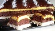 Výborná buchta s kokosem, čokoládou a žloutkovým krémem: Recept zde