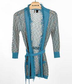BKE Crochet Cardigan Sweater