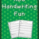 This is a group of printables for students to practice their handwriting skills. ...