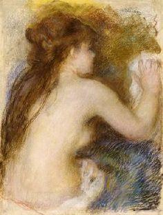 Pierre-Auguste Renoir - Nude Back Of A Woman