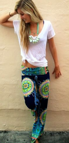 """""""Double Vision"""" palazzo... These pants are awesome!!"""