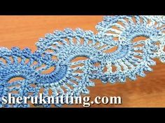 Pics Photos - Tutorial Tejer Una Orilla Puntilla Crochet Para Servilletas