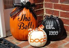 It is getting close to fall!  Get your decor ready!  Visit my website!  Go to Products- customize- saved- Fall/Halloween/Pumpkin then you can change your information!  #fall #pumpkin #porch #uppercase