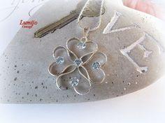 AARINIKORU RIIPUS SININEN Pendant Necklace, Jewellery, Silver, Jewels, Schmuck, Drop Necklace, Jewelry Shop, Jewlery, Jewelery