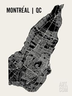 Montreal Art Print by Mr City Printing. Save up to 40% for a limited time at Art.com.