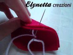 Volete imparare a realizzare oggettini in pannolenci e non sapete come cucirli??? Ecco qui la soluzione: il punto festone! ^_^ Tutorial per la realizzazione ...