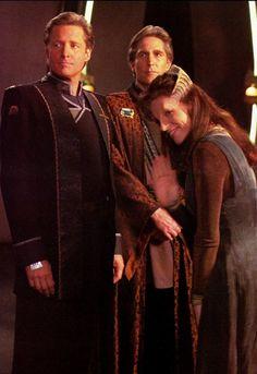 The three. Babylon 5