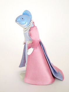Empress Fish 1:12 Scale Collectible Miniature Animal Doll by FantasticMiniatures #Etsy