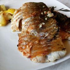 Rozmaringos grillezett pontyfilé Pork, Meat, Kale Stir Fry, Pigs, Pork Chops