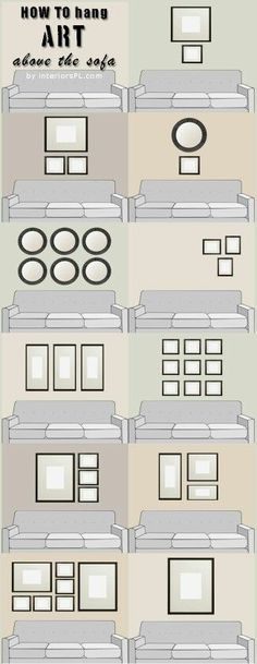 Graphs That Will Turn You Into an Interior Decorating Genius These 9 home decor charts are THE BEST! I'm so glad I found this! These have seriously helped me redecorate my rooms and make them look AWESOME! Definitely pinning this!These 9 home decor charts Cheap Home Decor, Cheap Diy Home Decor, Home Projects, New Homes, Tiny Homes, House Design, Home Design Diy, House Styles, Hanging Photos