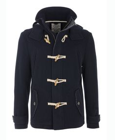 McGregor - Navy Dufflecoat Navy, Hoodies, My Style, Sweaters, Closet, Products, Fashion, Fashion Styles, Fall Winter