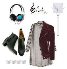 """""""Untitled #31"""" by lianne-turner on Polyvore featuring Gargyle, Monki, Balenciaga, Kit Heath, American Eagle Outfitters, Benzara, Abercrombie & Fitch, Maison Margiela, women's clothing and women"""