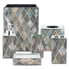 product image for Ankara Glass Quatrefoil Bath Ensemble