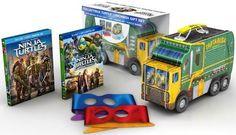 Teenage Mutant Ninja Turtles: Collectible Turtle Lunchbox Gift Set [Blu-ray/DVD]