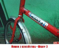 Rower z dzieciństwa - Wigry 3 Poland People, Retro, Childhood Memories, Old School, Nostalgia, Humor, Landscape, Grandmothers, Art