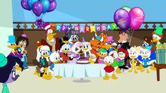 Webby's Birthday Party by Keanny on DeviantArt Happy Birthday Disney, Goof Troop, Mickey Mouse Cartoon, Duck Tales, I Party, Disney Channel, User Profile, Animation, Deviantart
