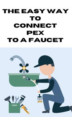 How to connect pex to a faucet.  I don't know how to do this type of job – so I searched for a guide on how to connect pex to a faucet and couldn't find anything… So I'm going to write this how-to article and explain exactly what you need to connect pex to a faucet.