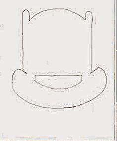 Eu Amo Artesanato: Mini berço de papelão e palitos e picolé.