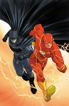 O Batman & Flash.