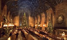 You can now attend a Christmas feast in the actual Great Hall at Hogwarts  - Cosmopolitan.co.uk
