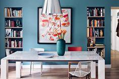 Квартира с розовой спальней в Польше (70 кв. м)   Пуфик - блог о дизайне интерьера