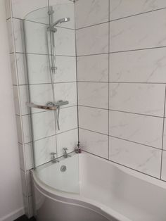 Image Of Shower Bath in an installation project by UK Bathroom Guru
