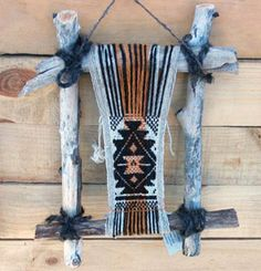 Telar Mapuche terminado - Fiesta del telar, Cajon Chico, Neuquén, AR