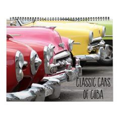 #Classic Cars of Cuba Calendar - #office #gifts #giftideas #business