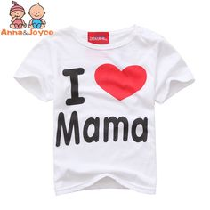spring T shirt sleeve  Simple letter love mom and dad baby cotton long  sleeved T-shirt ATST0015 #>=#>=#>=#>=#> Click on the pin to check out discount price, color, size, shipping, etc. Save and like it!